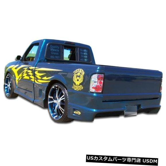 Rear Bumper 93-97フォードレンジャードリフターデュラフレックスリアボディキットバンパー!!! 101240 93-97 Ford Ranger Drifter Duraflex Rear Body Kit Bumper!!! 101240