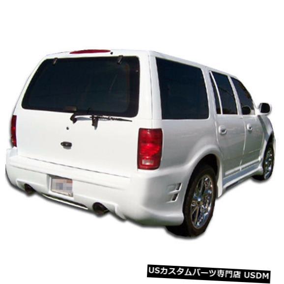 Rear Bumper 97-02フォードエクスペディションプラチナDuraflexリアボディキットバンパー!!! 101823 97-02 Ford Expedition Platinum Duraflex Rear Body Kit Bumper!!! 101823