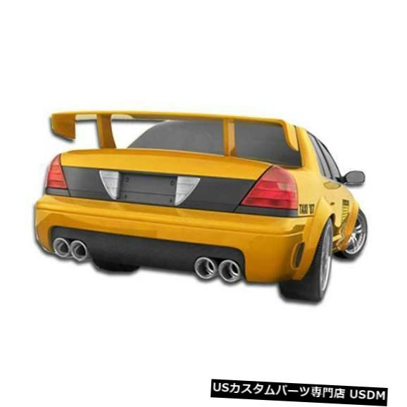Rear Bumper 98-07フォードクラウンビクトリアGTコンセプトデュラフレックスリアボディキットバンパー!!! 103534 98-07 Ford Crown Victoria GT Concept Duraflex Rear Body Kit Bumper!!! 103534