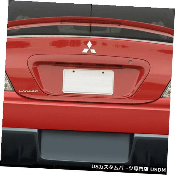 Rear Bumper 04-07三菱ランサーEVO Xルックデュラフレックスリアボディキットバンパー!!! 108206 04-07 Mitsubishi Lancer EVO X Look Duraflex Rear Body Kit Bumper!!! 108206