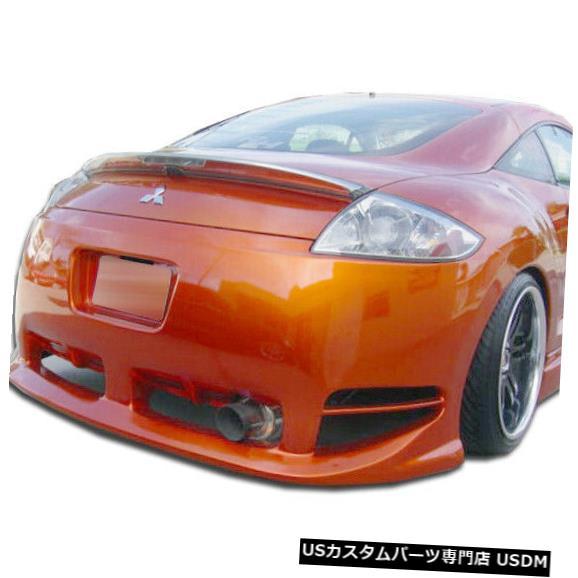 Rear Bumper 06-12三菱エクリプスデーモンデュラフレックスリアボディキットバンパー!!! 105251 06-12 Mitsubishi Eclipse Demon Duraflex Rear Body Kit Bumper!!! 105251
