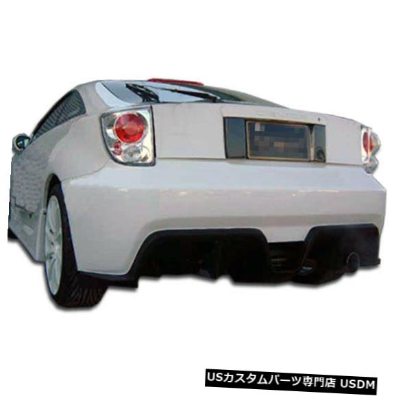 Rear Bumper 00-05トヨタセリカボンバーデュラフレックスリアボディキットバンパー!!! 100172 00-05 Toyota Celica Bomber Duraflex Rear Body Kit Bumper!!! 100172