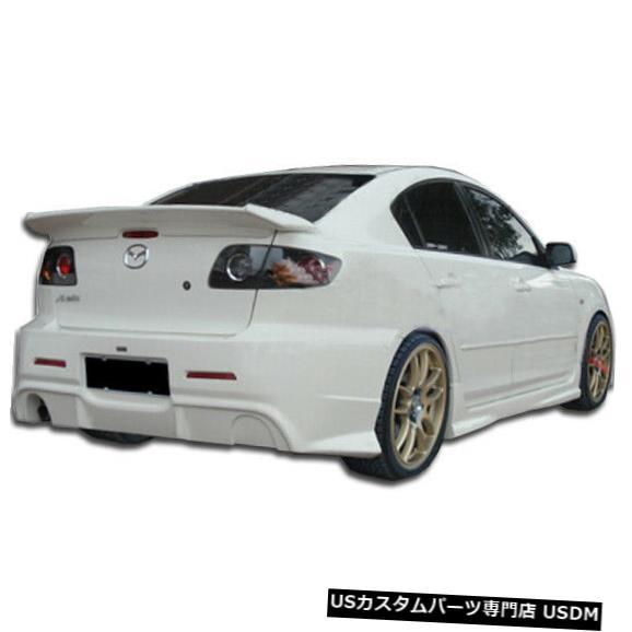 Rear Bumper 04-09マツダマツダ3 4DR I-Spec Duraflexリアボディキットバンパー!!! 104480 04-09 Mazda Mazda 3 4DR I-Spec Duraflex Rear Body Kit Bumper!!! 104480