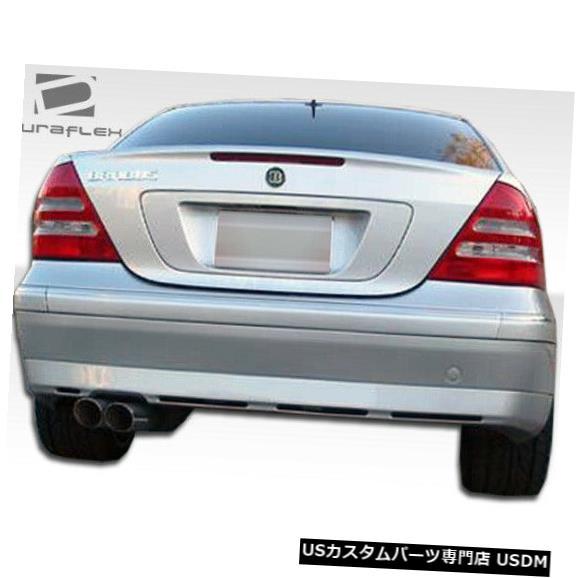 Rear Bumper 01-07メルセデスCクラス4DR BR-Sオーバーストックリアボディキットバンパー!!! 102235 01-07 Mercedes C Class 4DR BR-S Overstock Rear Body Kit Bumper!!! 102235