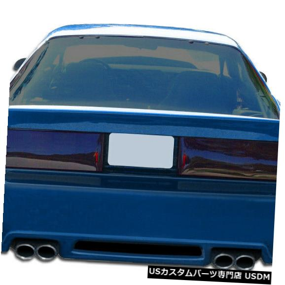 Rear Bumper 82-92シボレーカマロエクストリームデュラフレックスリアボディキットバンパー!!! 106778 82-92 Chevrolet Camaro Xtreme Duraflex Rear Body Kit Bumper!!! 106778