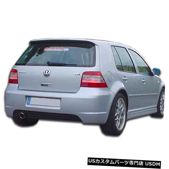 Rear Bumper 99-05フォルクスワーゲンゴルフRX-Sデュラフレックスリアボディキットバンパー!!! 105968 99-05 Volkswagen Golf RX-S Duraflex Rear Body Kit Bumper!!! 105968