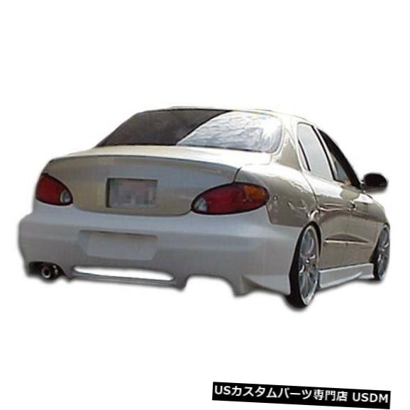 Rear Bumper 99-00ヒュンダイエラントラEVO 2オーバーストックリアボディキットバンパーに適合!!! 102450 99-00 Fits Hyundai Elantra EVO 2 Overstock Rear Body Kit Bumper!!! 102450