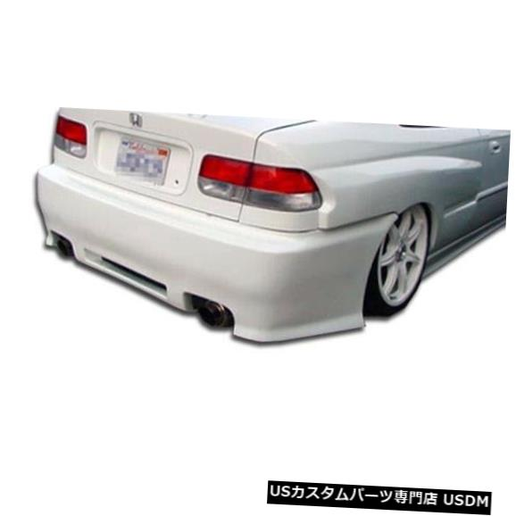 Rear Bumper 96-00ホンダシビック2DRスパイダーデュラフレックスリアボディキットバンパー!!! 101744 96-00 Honda Civic 2DR Spyder Duraflex Rear Body Kit Bumper!!! 101744