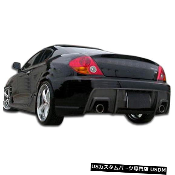 Rear Bumper 03-06ヒュンダイティブロンSpec-Rデュラフレックスリアボディキットバンパーに適合!!! 106007 03-06 Fits Hyundai Tiburon Spec-R Duraflex Rear Body Kit Bumper!!! 106007