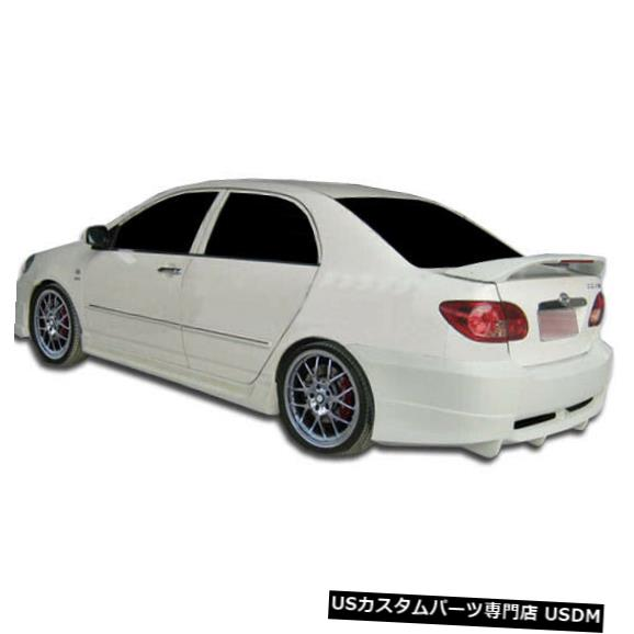 Rear Bumper 03-08トヨタカローラスカイラークデュラフレックスリアボディキットバンパー!!! 104506 03-08 Toyota Corolla Skylark Duraflex Rear Body Kit Bumper!!! 104506