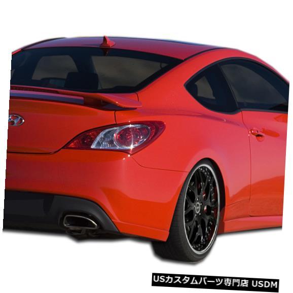 Rear Bumper 10-16はヒュンダイジェネシスJSpecオーバーストックリアバンパーアドオンボディキット107754に適合 10-16 Fits Hyundai Genesis JSpec Overstock Rear Bumper Add On Body Kit 107754