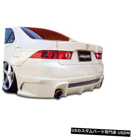 Rear Bumper 04-08 Acura TSX Raven Duraflexリアボディキットバンパー!!! 100546 04-08 Acura TSX Raven Duraflex Rear Body Kit Bumper!!! 100546