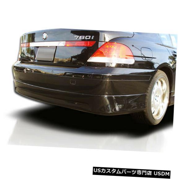 Rear Bumper 02-05 BMW 7シリーズエグゼクティブオーバーストックリアバンパーリップボディキット!!! 103603 02-05 BMW 7 Series Executive Overstock Rear Bumper Lip Body Kit!!! 103603