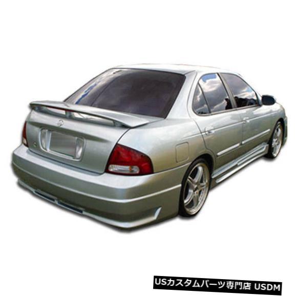 Rear Bumper 00-03日産セントラR34オーバーストックリアボディキットバンパーに適合!!! 100153 00-03 Fits Nissan Sentra R34 Overstock Rear Body Kit Bumper!!! 100153