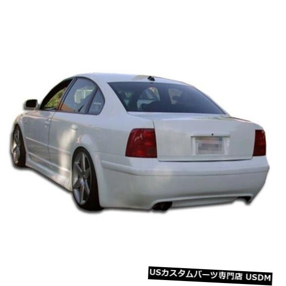 Rear Bumper 98-01フォルクスワーゲンパサートRSルックデュラフレックスリアボディキットバンパー!!! 102050 98-01 Volkswagen Passat RS Look Duraflex Rear Body Kit Bumper!!! 102050