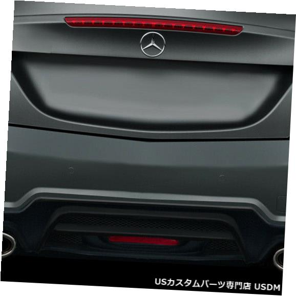 Rear Bumper 12-16メルセデスSLK W-1 Duraflexリアボディキットバンパー!!! 113938 12-16 Mercedes SLK W-1 Duraflex Rear Body Kit Bumper!!! 113938