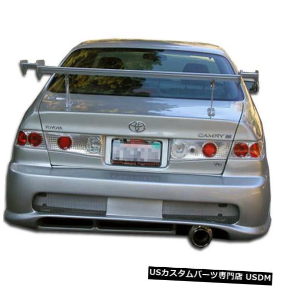 Rear Bumper 97-01トヨタカムリコンバットデュラフレックスリアボディキットバンパー!!! 101921 97-01 Toyota Camry Kombat Duraflex Rear Body Kit Bumper!!! 101921