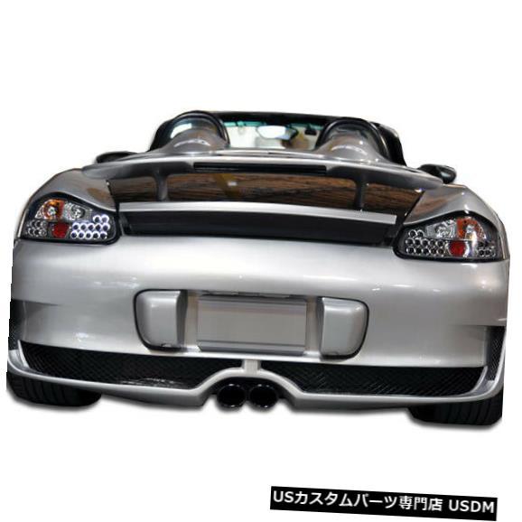 Rear Bumper 97-04ポルシェボクスターマストンデュラフレックスリアボディキットバンパー!!! 104994 97-04 Porsche Boxster Maston Duraflex Rear Body Kit Bumper!!! 104994