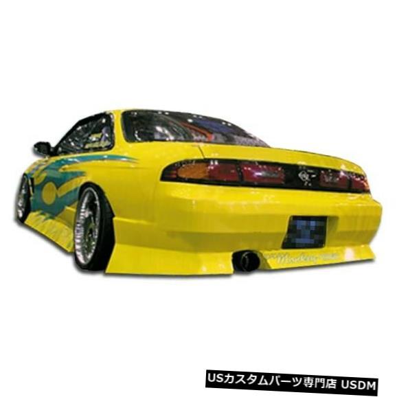Rear Bumper 95-98は日産240SX Type U Duraflexリアボディキットバンパーに適合!!! 101646 95-98 Fits Nissan 240SX Type U Duraflex Rear Body Kit Bumper!!! 101646