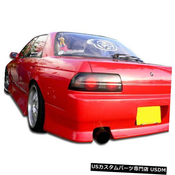Rear Bumper 89-94は日産スカイライン4DR BスポーツDuraflexリアボディキットバンパーに適合!!! 104593 89-94 Fits Nissan Skyline 4DR B-Sport Duraflex Rear Body Kit Bumper!!! 104593