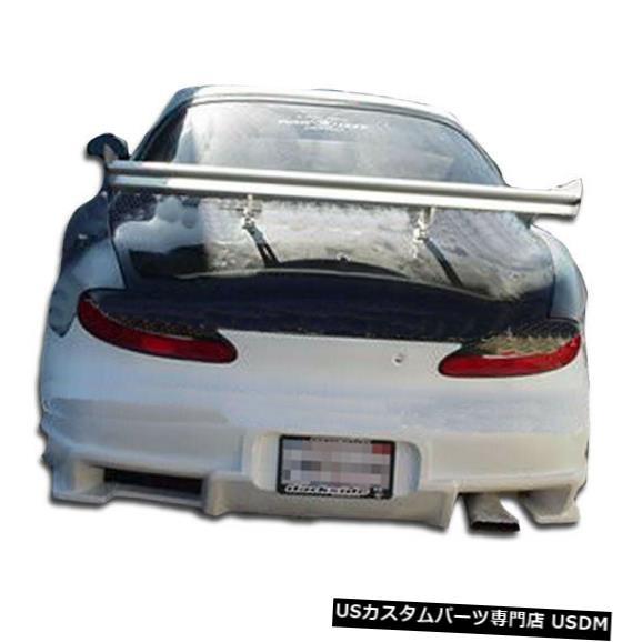 Rear Bumper 97-99ヒュンダイティブロンボンバーオーバーストックリアボディキットバンパーに適合!!! 101855 97-99 Fits Hyundai Tiburon Bomber Overstock Rear Body Kit Bumper!!! 101855