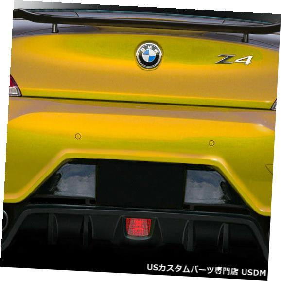 Rear Bumper 09-16 BMW Z4 TKR Duraflexリアボディキットバンパー!!! 113519 09-16 BMW Z4 TKR Duraflex Rear Body Kit Bumper!!! 113519