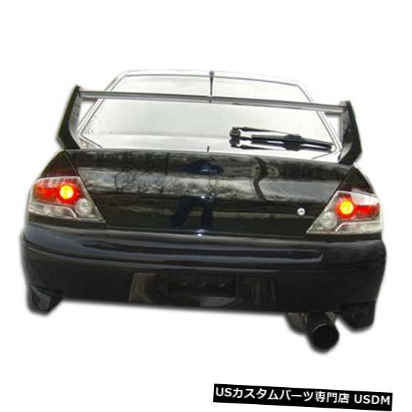 Rear Bumper 03-06三菱エボリューションVスポーツオーバーストックリアボディキットバンパー!!! 107210 03-06 Mitsubishi Evolution V-Sport Overstock Rear Body Kit Bumper!!! 107210
