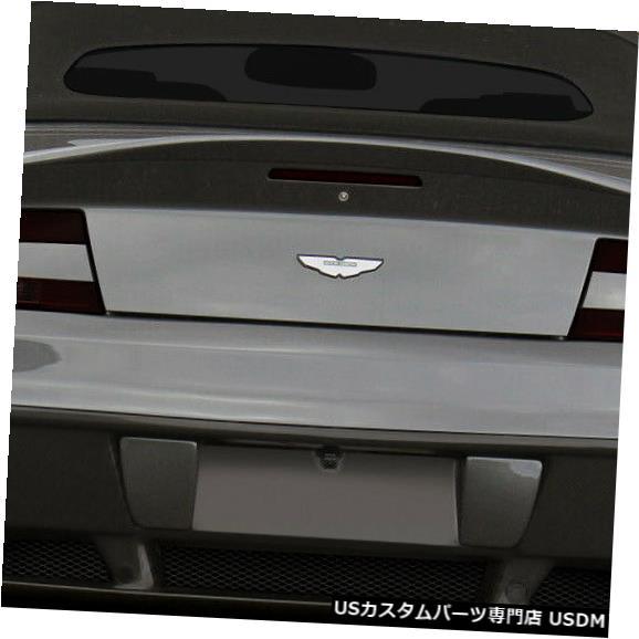 Rear Bumper 06-16アストンマーティンヴァンテージエロスV.1デュラフレックスリアボディキットバンパー!!! 109646 06-16 Aston Martin Vantage Eros V.1 Duraflex Rear Body Kit Bumper!!! 109646