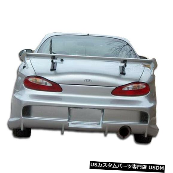Rear Bumper 97-99ヒュンダイティブロンベイダー2オーバーストックリアボディキットバンパーに適合!!! 101860 97-99 Fits Hyundai Tiburon Vader 2 Overstock Rear Body Kit Bumper!!! 101860
