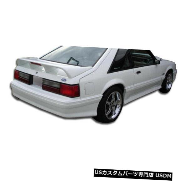 Rear Bumper 79-93フォードマスタングコブラRデュラフレックスリアボディキットバンパー!!! 103762 79-93 Ford Mustang Cobra R Duraflex Rear Body Kit Bumper!!! 103762