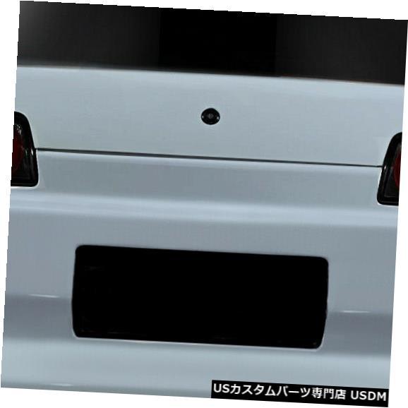 Rear Bumper 89-94は日産スカイライン4DR V-Speed Duraflexリアボディキットバンパーに適合!!! 113566 89-94 Fits Nissan Skyline 4DR V-Speed Duraflex Rear Body Kit Bumper!!! 113566