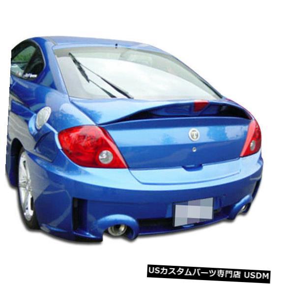 Rear Bumper 03-06 Hyundai Tiburon SC-5 Duraflexリアボディキットバンパーに適合!!! 100448 03-06 Fits Hyundai Tiburon SC-5 Duraflex Rear Body Kit Bumper!!! 100448
