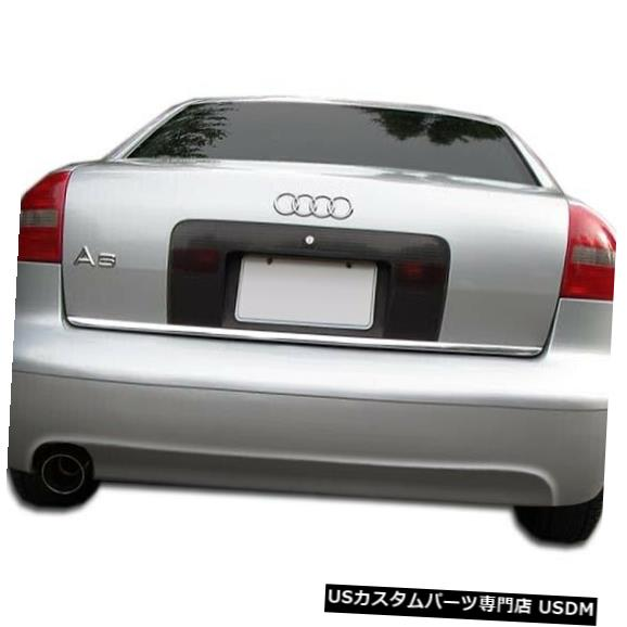 Rear Bumper 98-01アウディA6 4DRタイプAオーバーストックリアバンパーリップボディキット!!! 107516 98-01 Audi A6 4DR Type A Overstock Rear Bumper Lip Body Kit!!! 107516