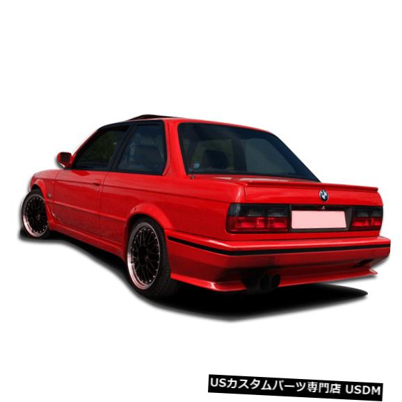 Rear Bumper 84-91 BMW 3シリーズEVOルックDuraflexリアボディキットバンパー!!! 106439 84-91 BMW 3 Series EVO Look Duraflex Rear Body Kit Bumper!!! 106439