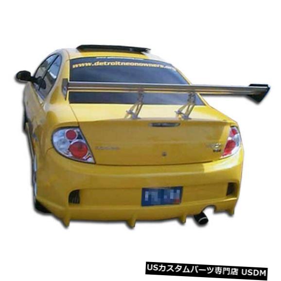 Rear Bumper 00-02ダッジネオンベイダーオーバーストックカーボンリアボディキットバンパー!!! 103677 00-02 Dodge Neon Vader Overstock Carbon Rear Body Kit Bumper!!! 103677
