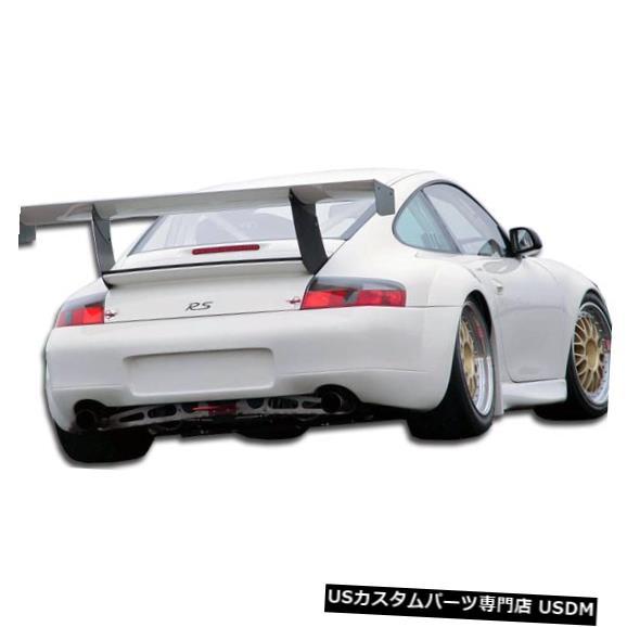 Rear Bumper 99-01ポルシェ996 GT3-R Duraflexリアワイドボディキットバンパー!!! 105403 99-01 Porsche 996 GT3-R Duraflex Rear Wide Body Kit Bumper!!! 105403