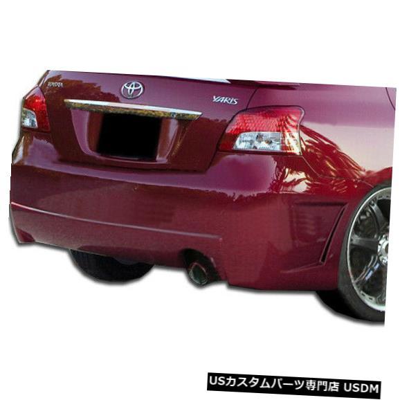 Rear Bumper 07-11トヨタヤリス4DR B-2デュラフレックスリアボディキットバンパー!!! 103394 07-11 Toyota Yaris 4DR B-2 Duraflex Rear Body Kit Bumper!!! 103394