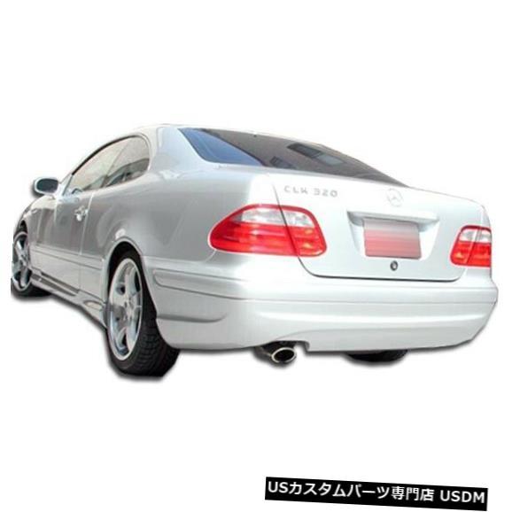 Rear Bumper 98-02メルセデスCLK AMGルックDuraflexリアボディキットバンパー!!! 103047 98-02 Mercedes CLK AMG Look Duraflex Rear Body Kit Bumper!!! 103047