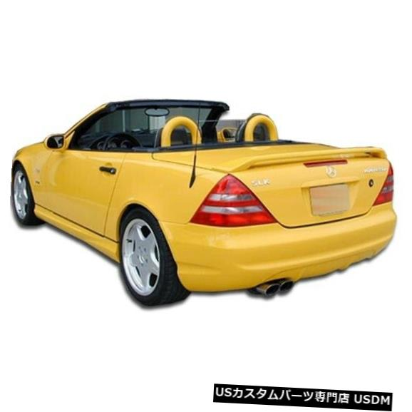 Rear Bumper 98-04メルセデスSLK AMGルックDuraflexリアボディキットバンパー!!! 102490 98-04 Mercedes SLK AMG Look Duraflex Rear Body Kit Bumper!!! 102490