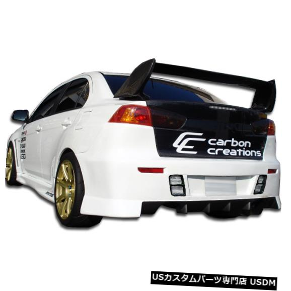 Rear Bumper 08-15三菱エボリューションGTコンセプトデュラフレックスリアボディキットバンパー!!! 104640 08-15 Mitsubishi Evolution GT Concept Duraflex Rear Body Kit Bumper!!! 104640