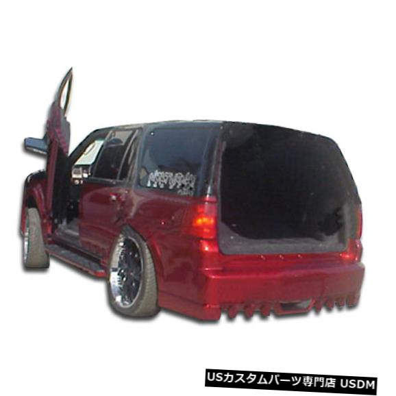 Rear Bumper 03-06リンカーンナビゲーターVIP Duraflexリアボディキットバンパー!!! 103986 03-06 Lincoln Navigator VIP Duraflex Rear Body Kit Bumper!!! 103986