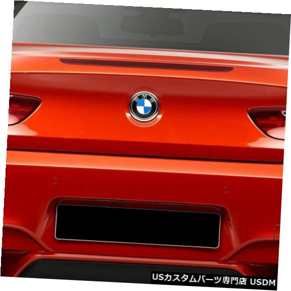 Rear Bumper 11-18 BMW 6シリーズM6ルックDuraflexリアボディキットバンパー!!! 109294 11-18 BMW 6 Series M6 Look Duraflex Rear Body Kit Bumper!!! 109294