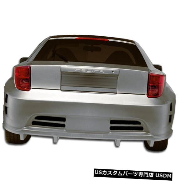 Rear Bumper 00-05トヨタセリカGT300デュラフレックスリアワイドボディキットバンパー!!! 104509 00-05 Toyota Celica GT300 Duraflex Rear Wide Body Kit Bumper!!! 104509