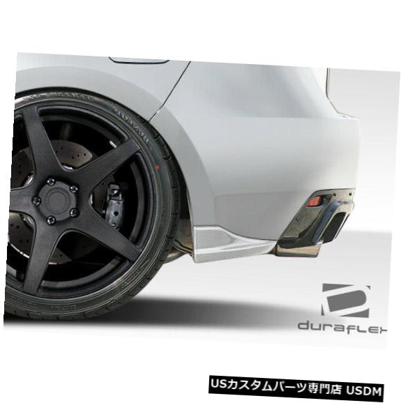 Rear Bumper 08-14スバルインプレッサ5DR C-Speed 2 Duraflexリアバンパーアドオンボディキット107864 08-14 Subaru Impreza 5DR C-Speed 2 Duraflex Rear Bumper Add On Body Kit 107864