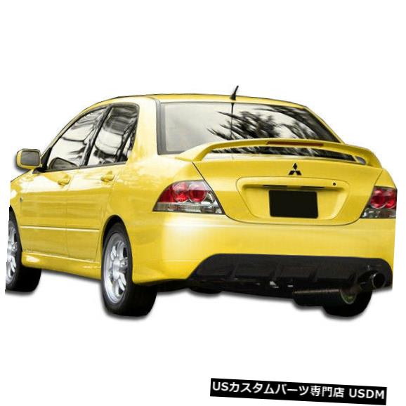 Rear Bumper 04-07三菱ランサーMRエディションデュラフレックスリアボディキットバンパー!!! 106442 04-07 Mitsubishi Lancer MR Edition Duraflex Rear Body Kit Bumper!!! 106442