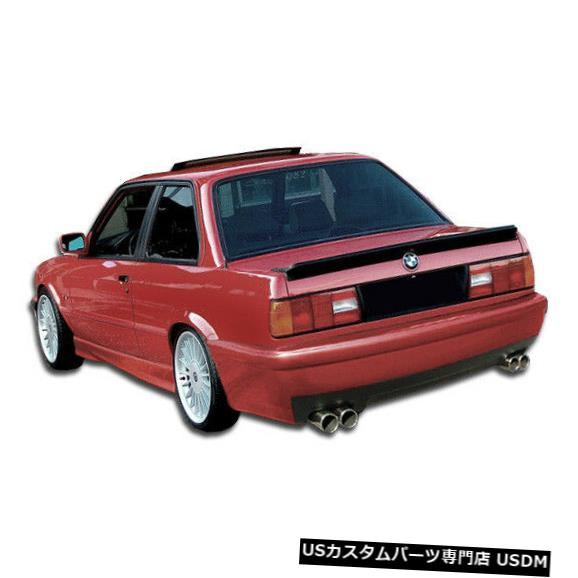 Rear Bumper 84-91 BMW 3シリーズCSLルックDuraflexリアボディキットバンパー!!! 103704 84-91 BMW 3 Series CSL Look Duraflex Rear Body Kit Bumper!!! 103704