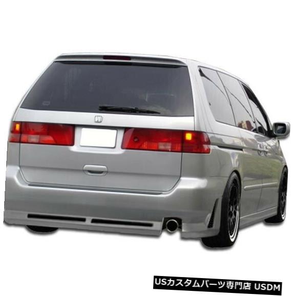 Rear Bumper 99-04ホンダオデッセイR34デュラフレックスリアボディキットバンパー!!! 102112 99-04 Honda Odyssey R34 Duraflex Rear Body Kit Bumper!!! 102112