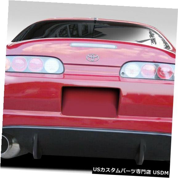 Rear Bumper 93-98トヨタスープラTR-Sデュラフレックスリアボディキットバンパー!!! 109090 93-98 Toyota Supra TR-S Duraflex Rear Body Kit Bumper!!! 109090