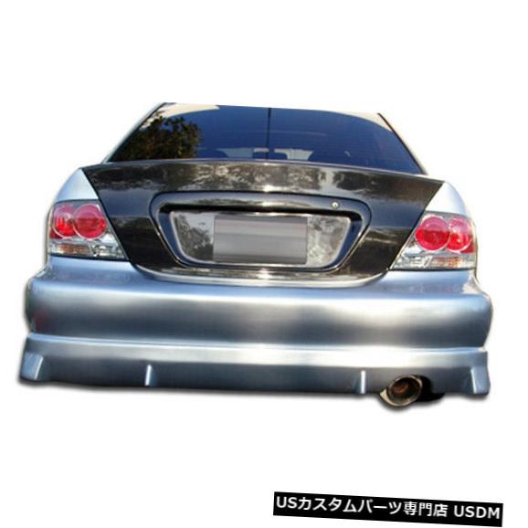 Rear Bumper 04-07三菱ランサーウォーカーデュラフレックスリアボディキットバンパー!!! 100576 04-07 Mitsubishi Lancer Walker Duraflex Rear Body Kit Bumper!!! 100576