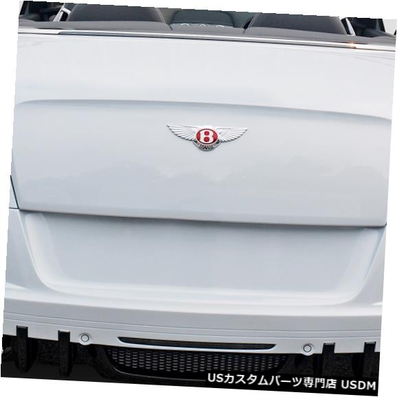 Rear Bumper 11-16 Bentley Continental GT Erosバージョン1 Duraflexリアボディキットバンパー113956 11-16 Bentley Continental GT Eros Version 1 Duraflex Rear Body Kit Bumper 113956